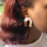 Hattie Arch Stud Earrings