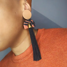Load image into Gallery viewer, Isys Luxe Tassel Earrings