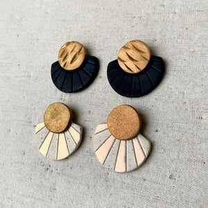 Jina Earrings - Black