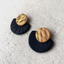 Load image into Gallery viewer, Jina Earrings - Black