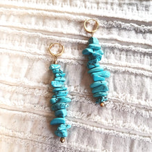 Load image into Gallery viewer, Lady Turq Earrings
