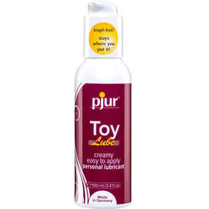 Can pjur silicone-based products also be used with sex toys?