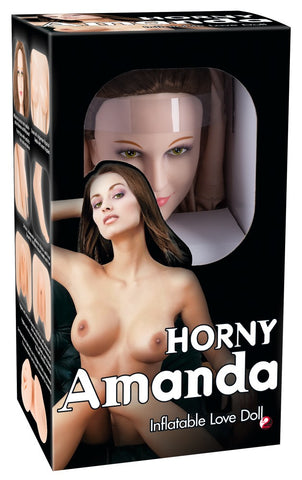 Horny Amanda sex doll