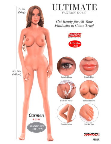 Ultimate sex doll Carmen