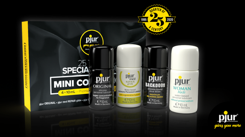 Pjur collection of sex lubes