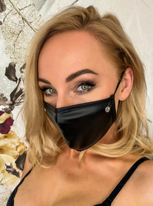 Sexy face mask with rhinostone