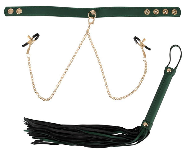 Flogger and Collar