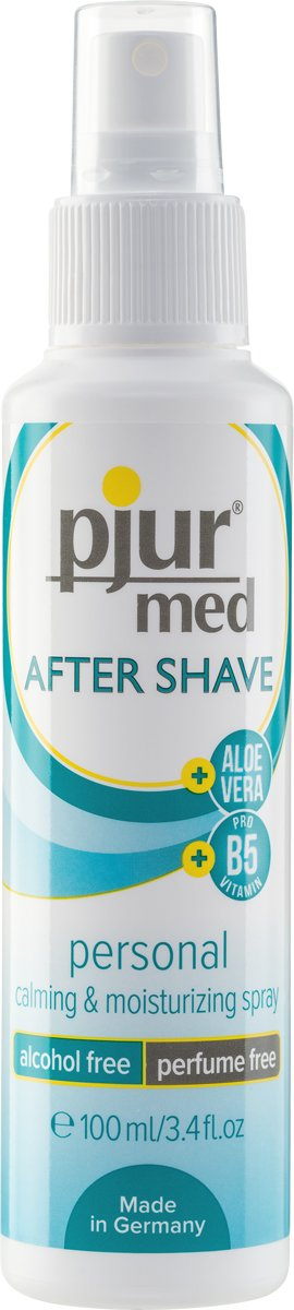 Pjur after shave spray