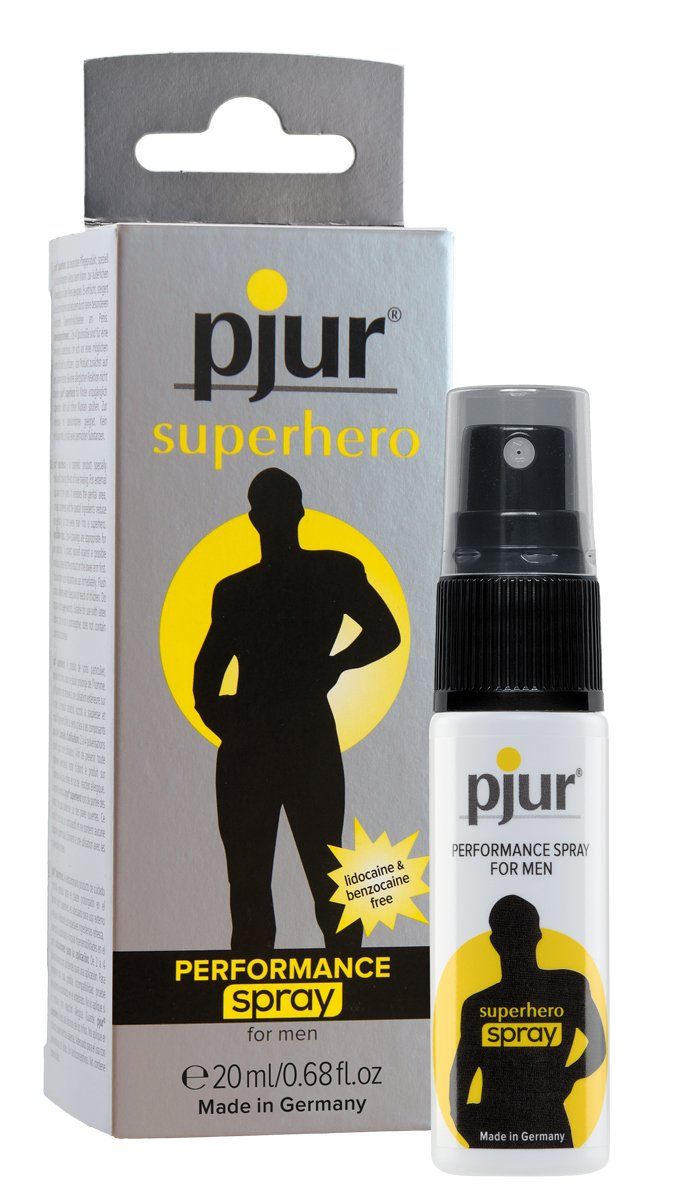 Pjur sexual performance spray