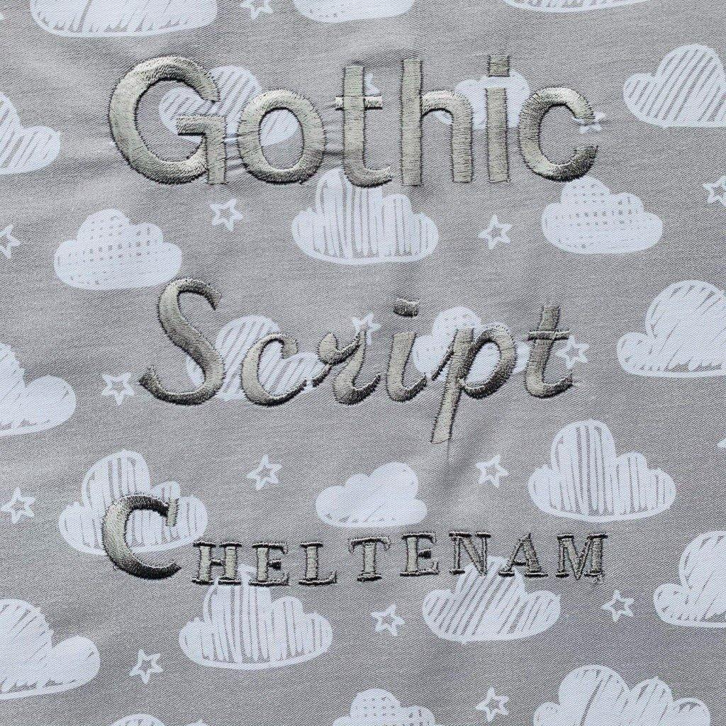 Personalisation Fonts for Children's Pillow Case