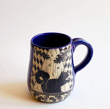 Load image into Gallery viewer, Made-to-Order Mug: Woodsy Mug - Squirrel, Oak and Acorns