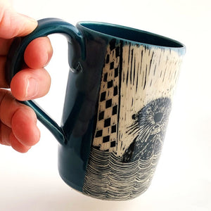 Mug - Otter and Pelican