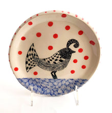 Load image into Gallery viewer, Small Plate - Party Bird #1