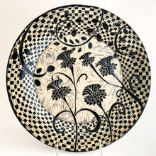 Load image into Gallery viewer, Platter - Woodcut Thistles