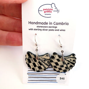 Earrings - Graphic Dangle #4
