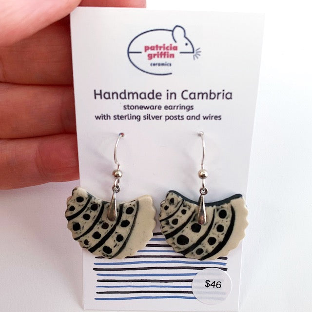 Earrings - Graphic Dangle #5