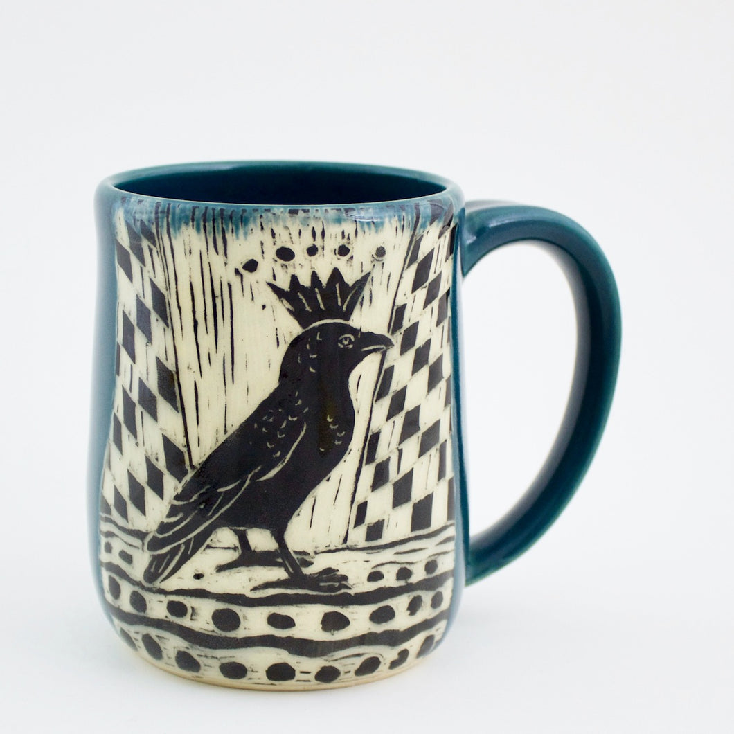 Made-to-Order Mug: King Crow