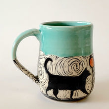 Load image into Gallery viewer, Made-to-Order Mug: Guard Cat on Patrol