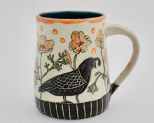 Load image into Gallery viewer, Made-to-Order Mug: California Mug - Quail and Poppies