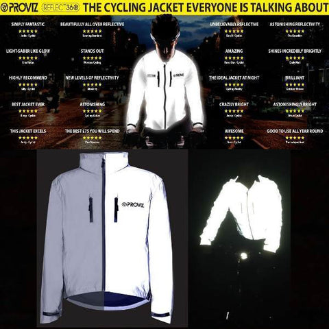 PROVIZ REFLECT 360 CYCLE JACKETS
