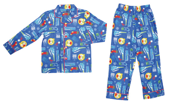 THE POLAR EXPRESS™ Coat Set Pajamas YOUTH -