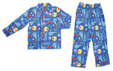 "THE POLAR EXPRESS™ Coat Set Pajamas YOUTH - ""Train Fun"""