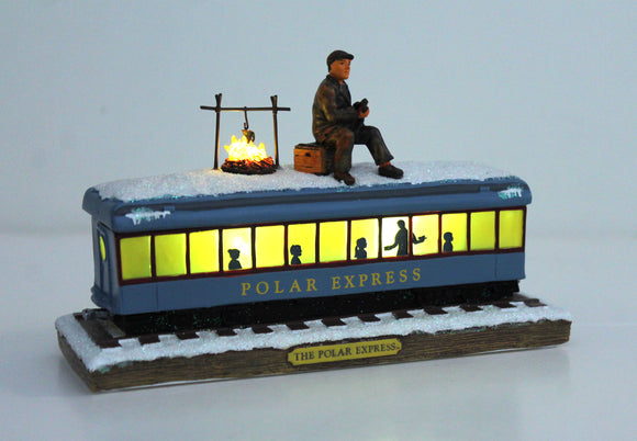 THE POLAR EXPRESS™ Collectible Passenger Car with Hobo Figurine