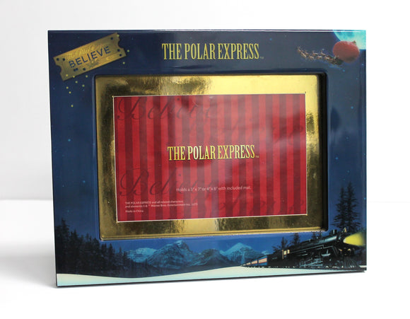 THE POLAR EXPRESS ™ Train Scene Picture Frame