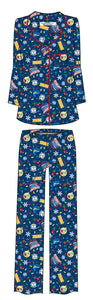 "THE POLAR EXPRESS™ Coat Set Pajamas ADULT - ""All Aboard"""