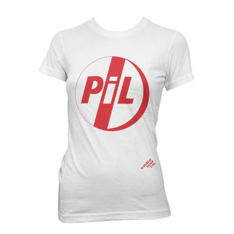 PiL Classic Red Logo Ladies Tee