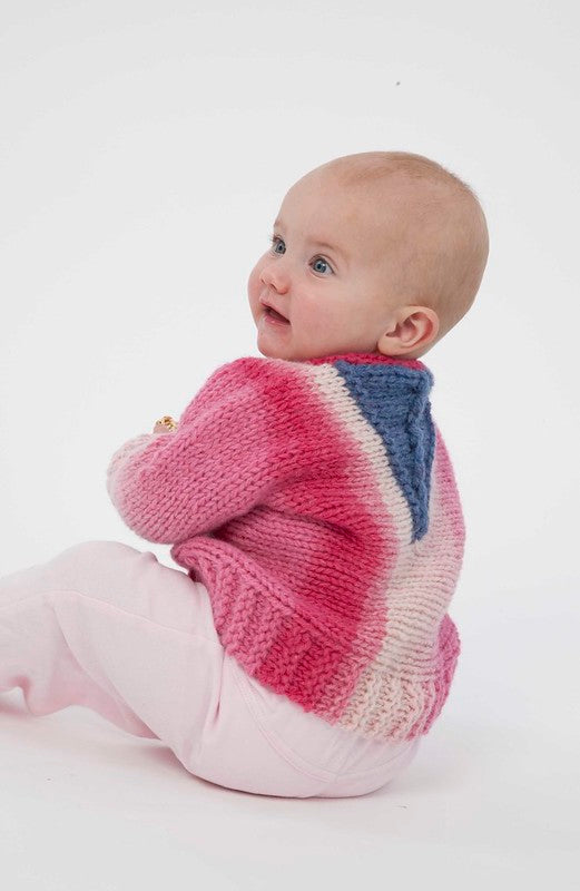 Baby Venus Cardigan by Lucy Neatby - Digital Pattern
