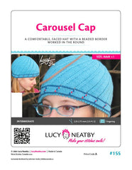 Carousel Cap by Lucy Neatby | Digital Pattern