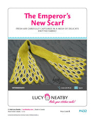 Emperor's New Scarf by Lucy Neatby - Digital Pattern