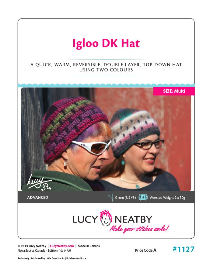Igloo DK Hat by Lucy Neatby | Digital Pattern