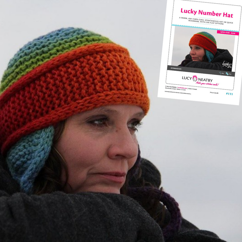 Lucky Number Hat by Lucy Neatby | Digital Pattern