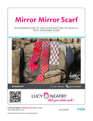 Mirror Mirror Scarf by Lucy Neatby - Digital Pattern
