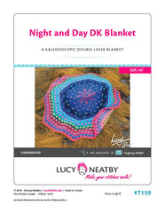 Night and Day DK Blanket by Lucy Neatby - Digital Pattern