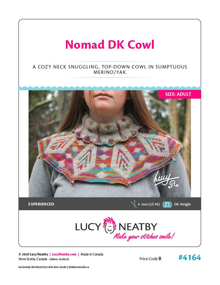 Nomad DK Cowl by Lucy Neatby - Digital Pattern