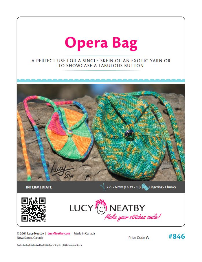 Opera Bag by Lucy Neatby - Digital Pattern