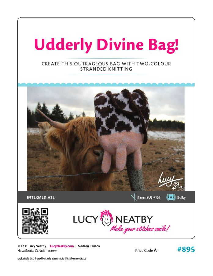 Udderly Divine Bag by Lucy Neatby - Digital Pattern