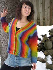 Venus Rising Cardigan by Lucy Neatby - Digital Pattern