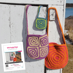 Whirlygig Bag by Lucy Neatby - Digital Pattern