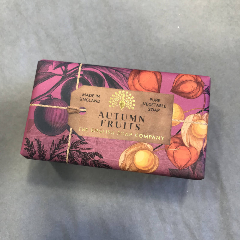 Large Bar of wrapped Soap - Autumn Fruits