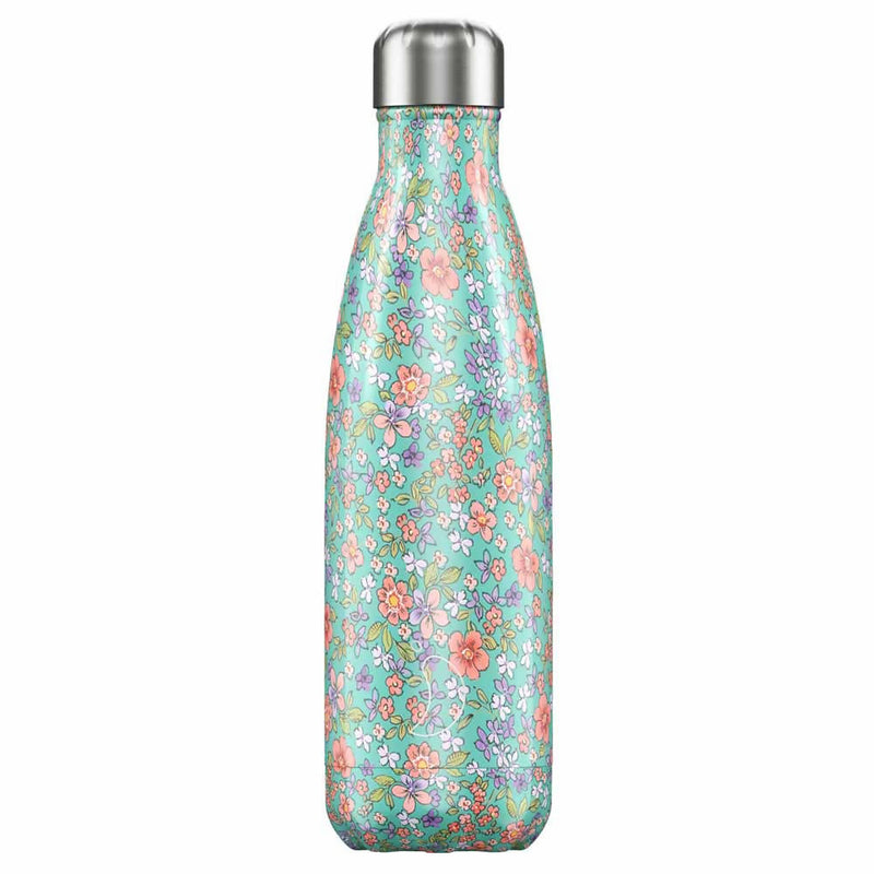 Chilly's Floral Peony Insulated Drinks Bottle 500ml