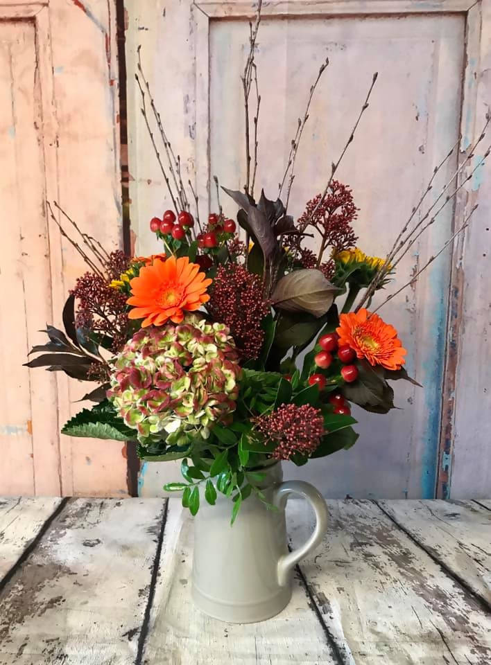 Florist Choice Jug Bright Autumn