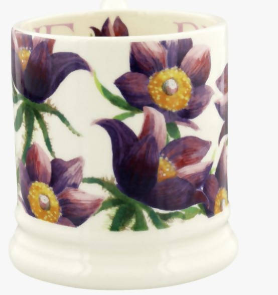 Emma Bridgewater Pasque Flower 1/2 Pint Mug