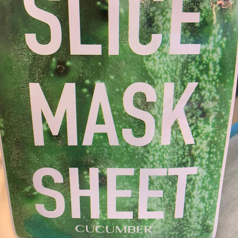 Face Mask Sheet - Cucumber