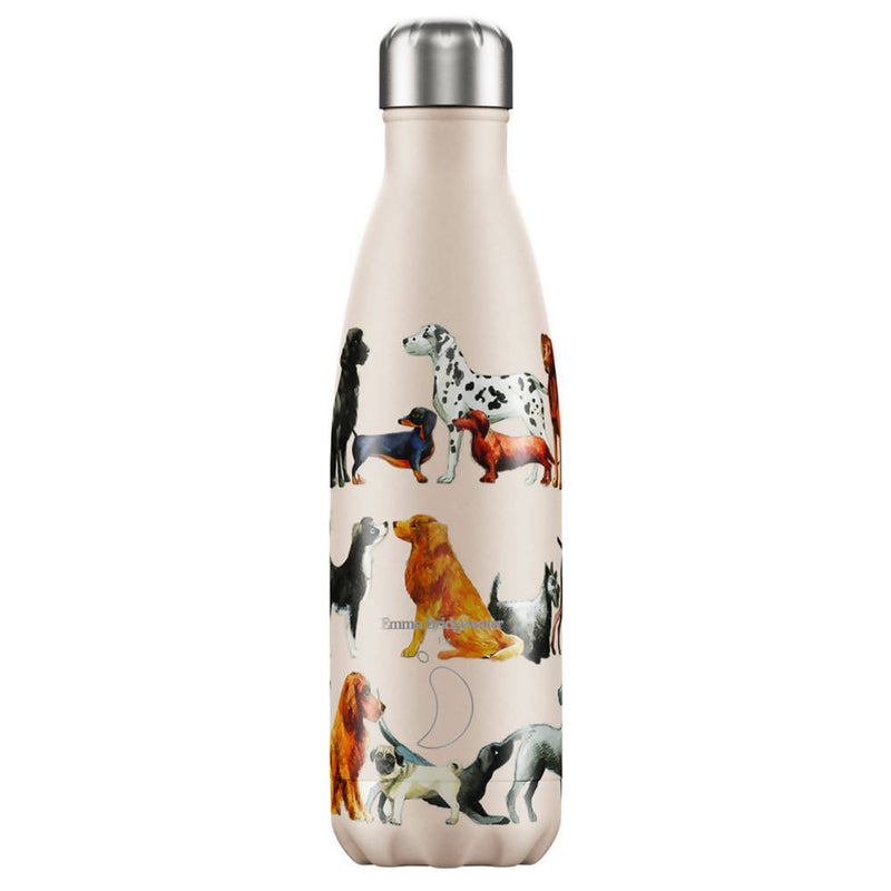 Chilly's Emma Bridgewater Dogs Insulated Drinks Bottle 500ml