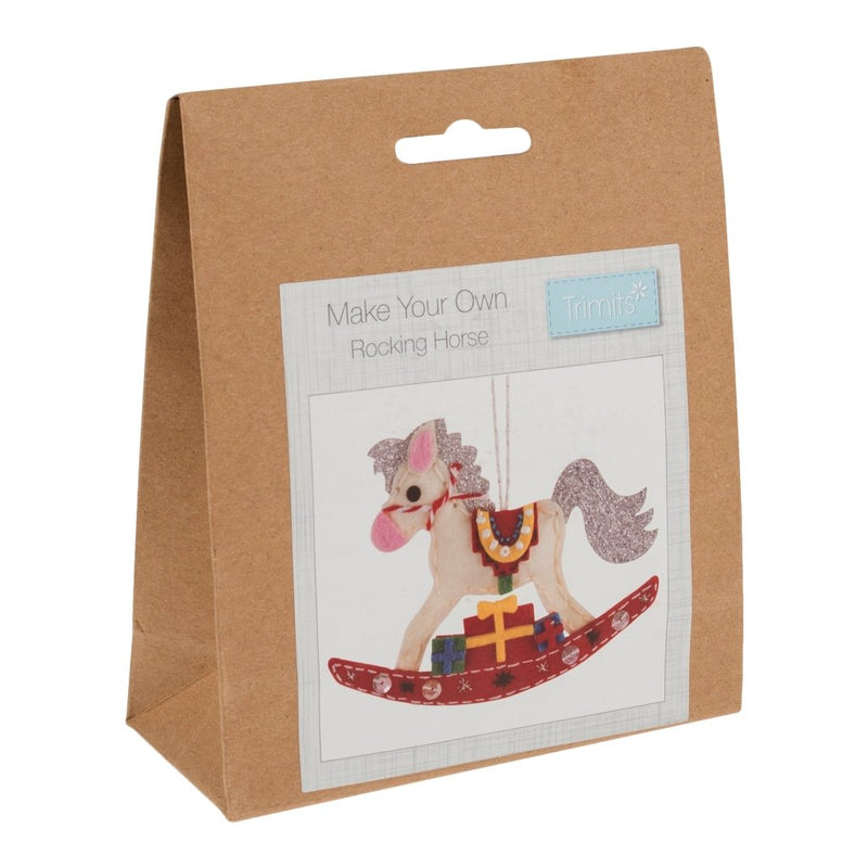 Felt Decoration Kit: Christmas: Rocking Horse