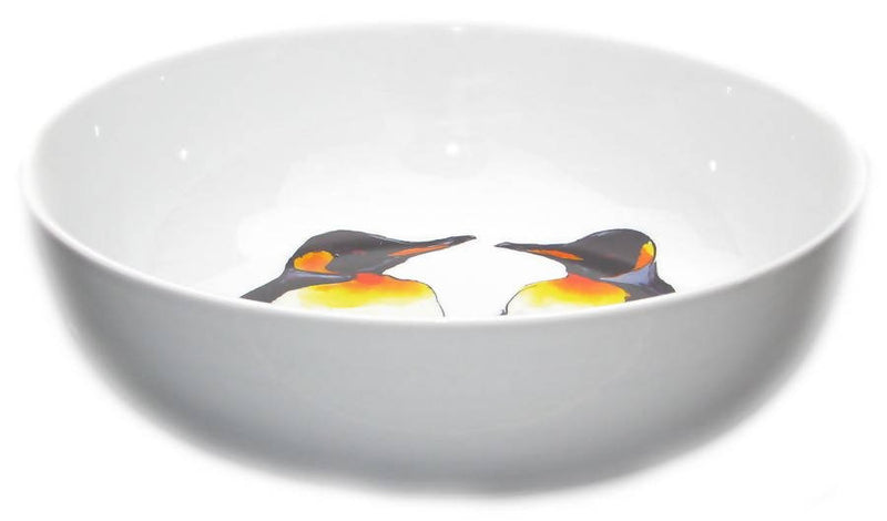 "Richard Bramble King Penguins 24cm (9.5"") Bowl"